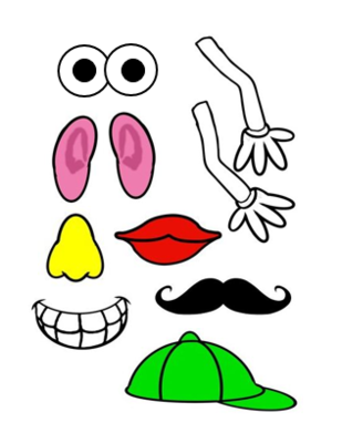 309x400 47e93b2d35259948a0f8dac3a7bfda96 My 5 Senses With Mr Potato Potato