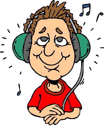 355x432 Sense Of Hearing Clipart