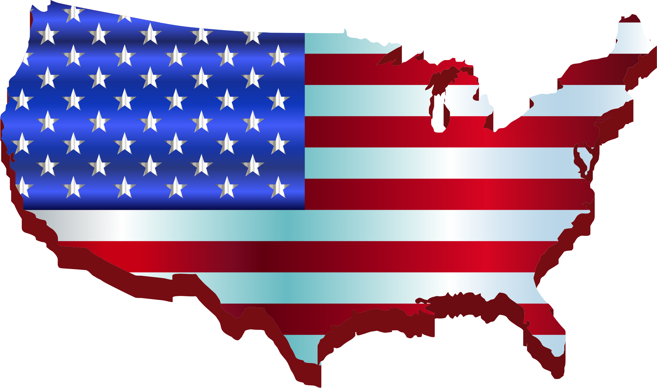 2290x1354 Us Map Clipart Transpatent