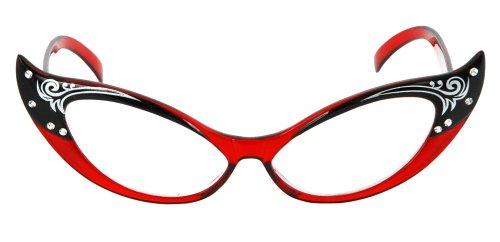 500x242 Cat Eye Glasses Clip Art Glass Clipart 50s 6
