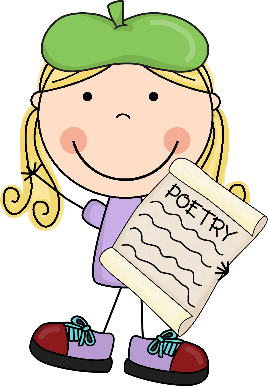 1110x1599 Clip Art Poetry 6.jpg Pixels Teacher Clipart