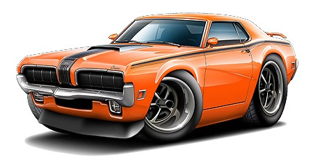 450x242 Clipart Muscle Cars Collection