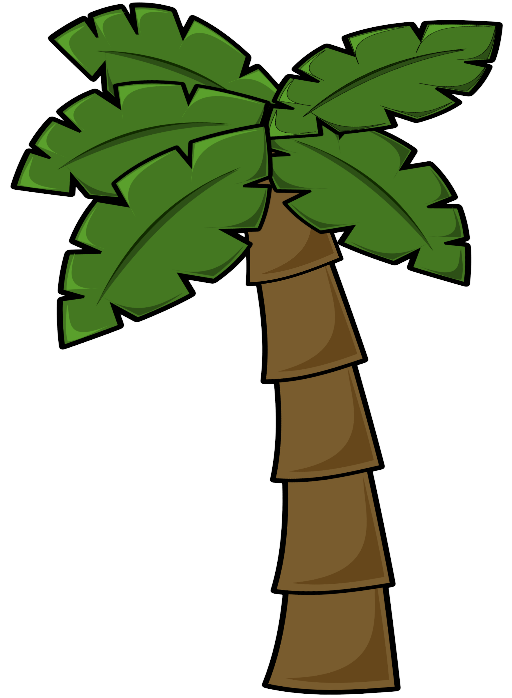 1763x2400 Palm Tree Clip Art 7
