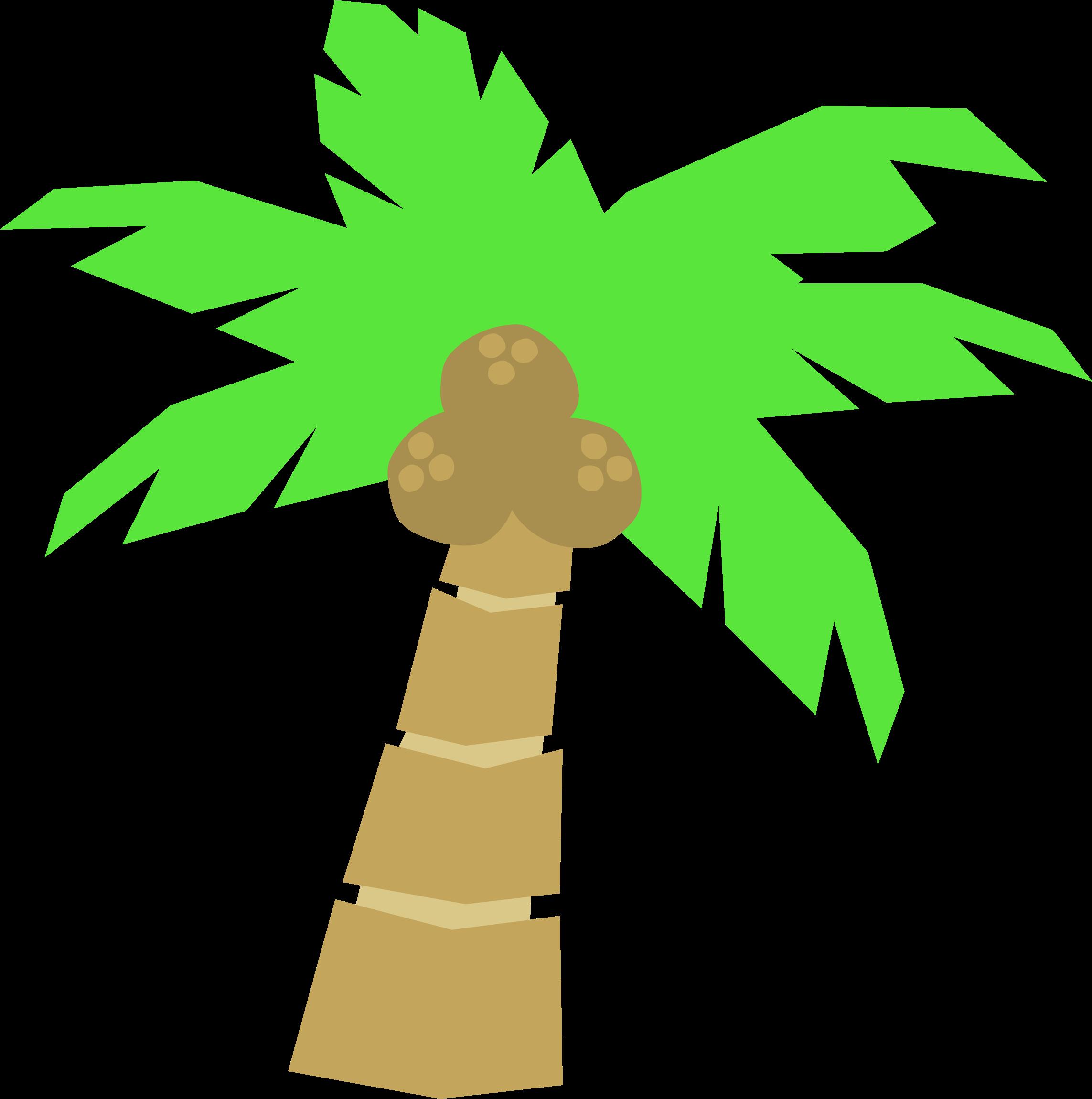 2286x2301 Tropical Palm Trees Clipart Free Clip Art Images Image 7 Clipartix