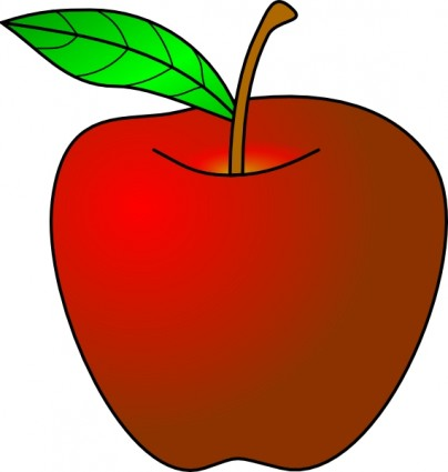 404x425 Apple Clip Art