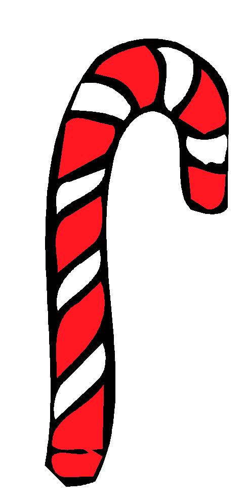 490x988 Candy Cane Clip Art