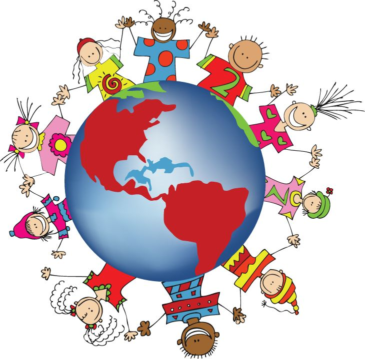 7 Continents Clipart