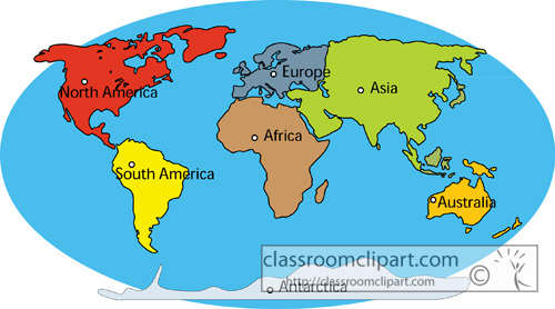 500x278 28+ Collection Of Seven Continents Clipart High Quality, Free