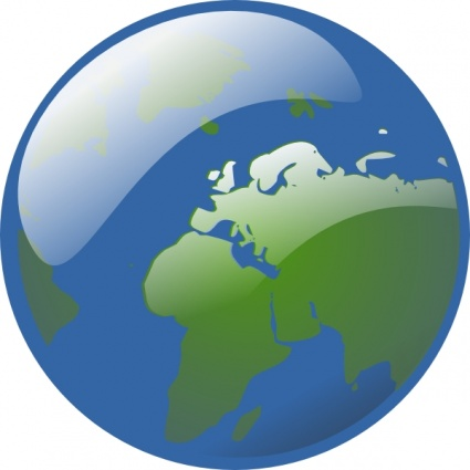 425x425 Free Download Of Earth Globe Clip Art Vector Graphic