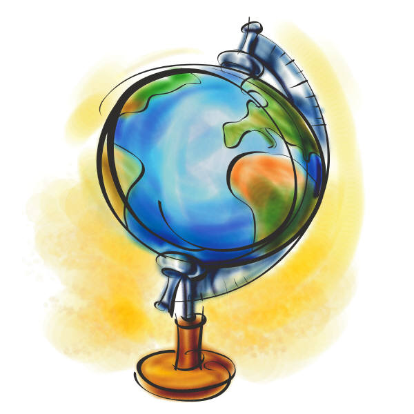 600x600 Geography Clipart