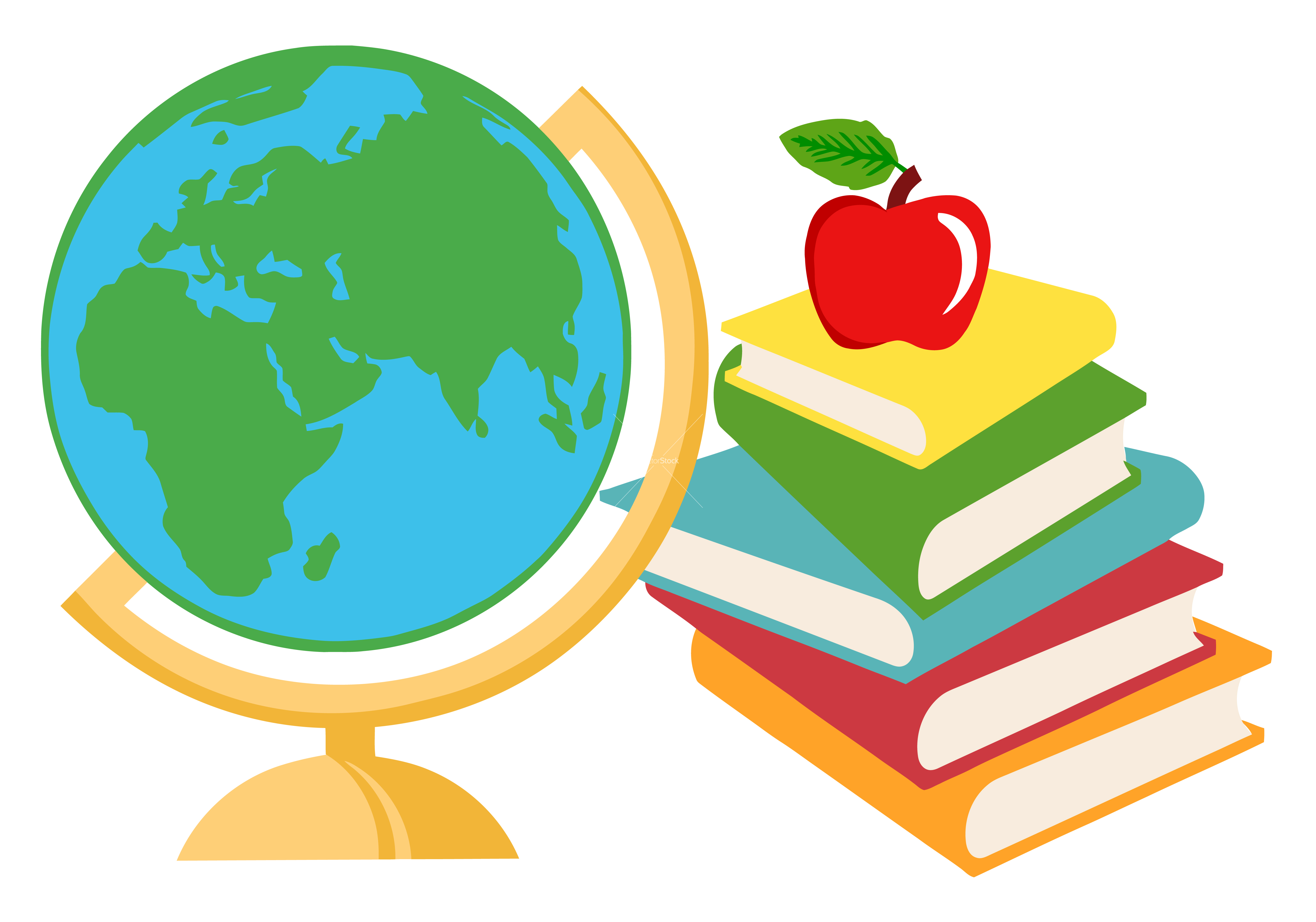 5359x3755 Geography Globe Clipart