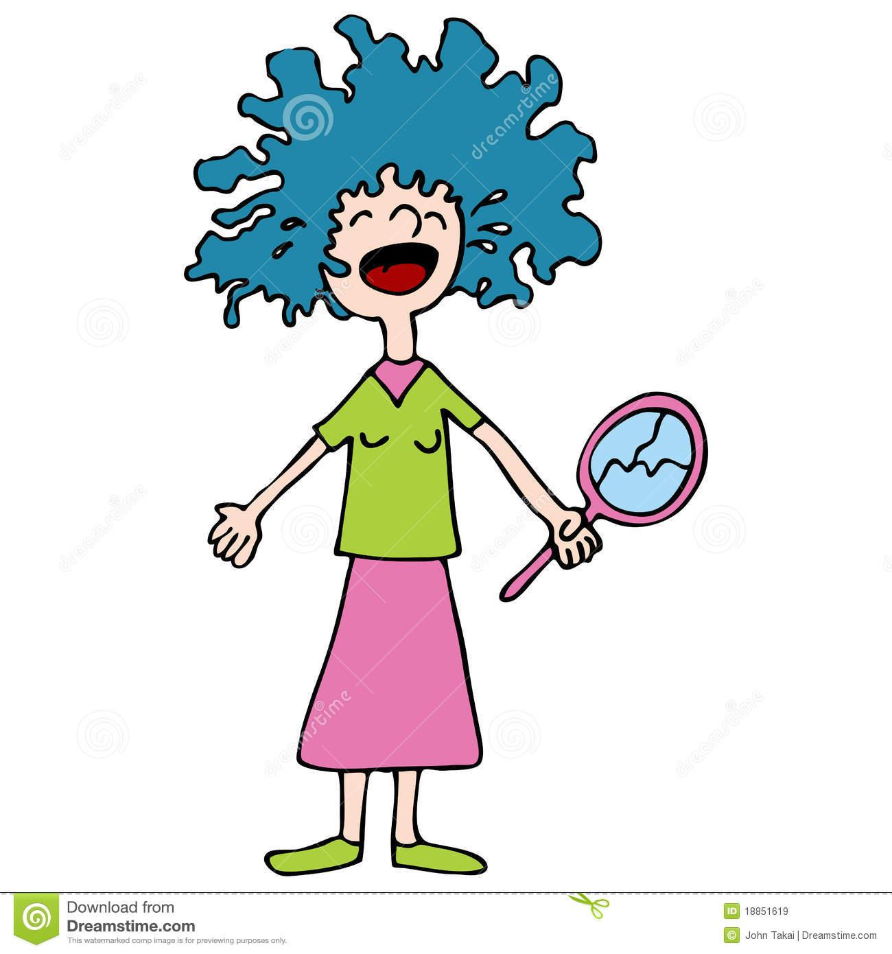 1300x1390 Funky Clipart Wacky Hair