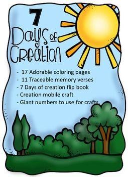 255x350 7 Days Of Creation