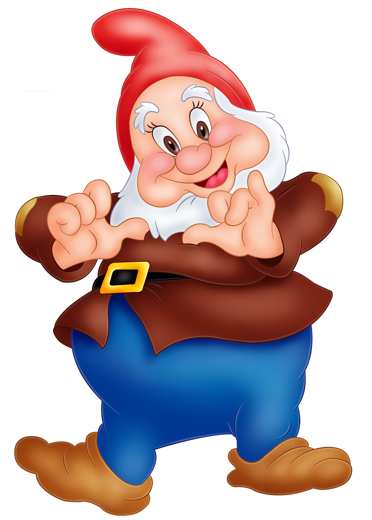1431x2000 Happy Snow White Dwarf Png Image Cartoon Png'S