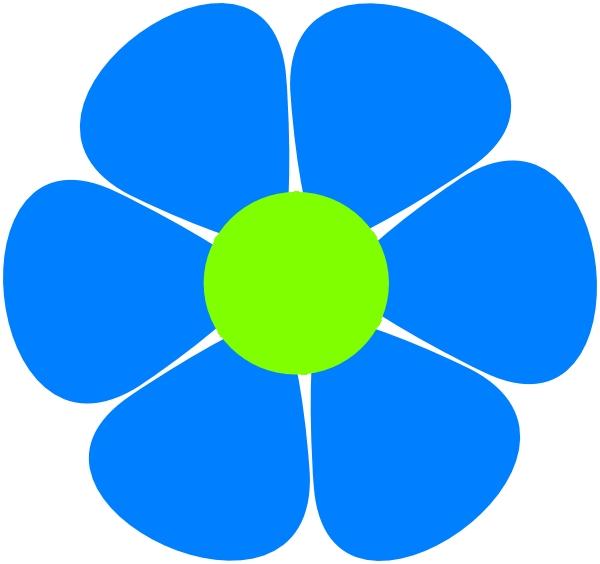 600x564 Flower Clipart 70s Flowerpower Clip Art At Clker Vector Clip Art