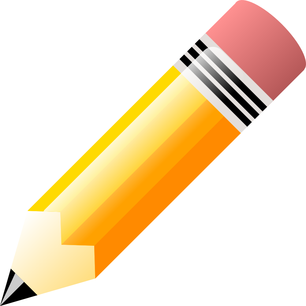 1000x1000 Pencil. Flag This Clip Art As Clipart Panda