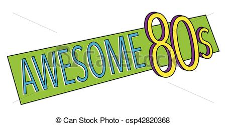 450x249 Awesome 80s Clip Art Vector