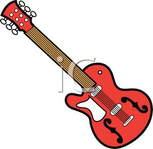 300x292 Rock And Roll Guitar Clip Art Clipart Panda