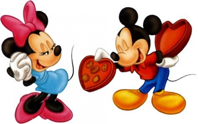 640x401 Disney Valentines Day Clip Art Mickey Mouse Clipart Valentines Day