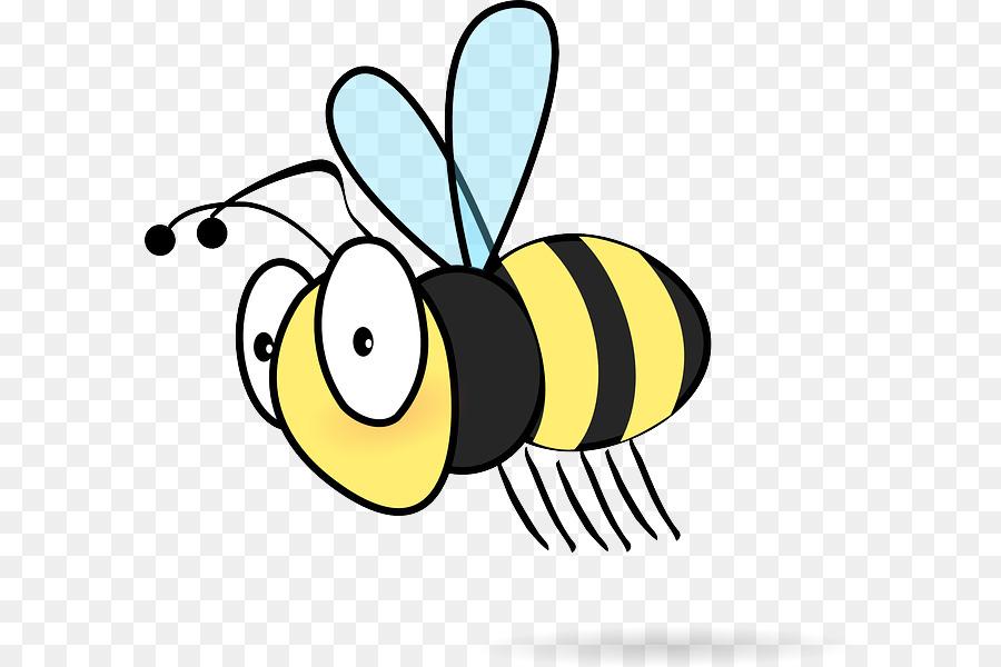 900x600 Honey Bee Drawing Clip Art