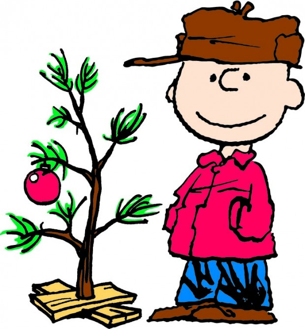 620x670 A Charlie Brown Christmas Clipart