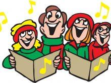 220x165 Carol Singers Clipart Christmas Carol Singers Theme 2 Vector