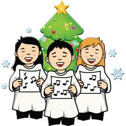 250x250 Carolling Clip Art For Christmas Fun For Christmas