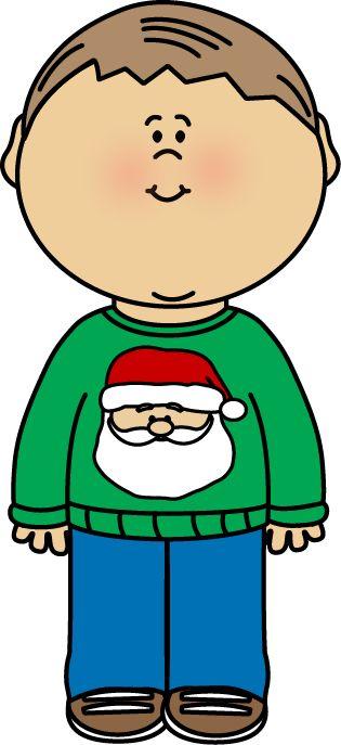 315x687 Christmas Boy Cliparts