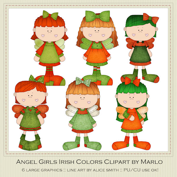 600x600 St. Patrick's Day Clip Art Clip Art Designs, Commercial Use