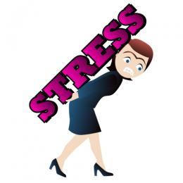 260x260 Funny Stressful Clip Art
