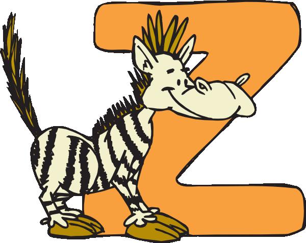600x476 Animal Z Clip Art