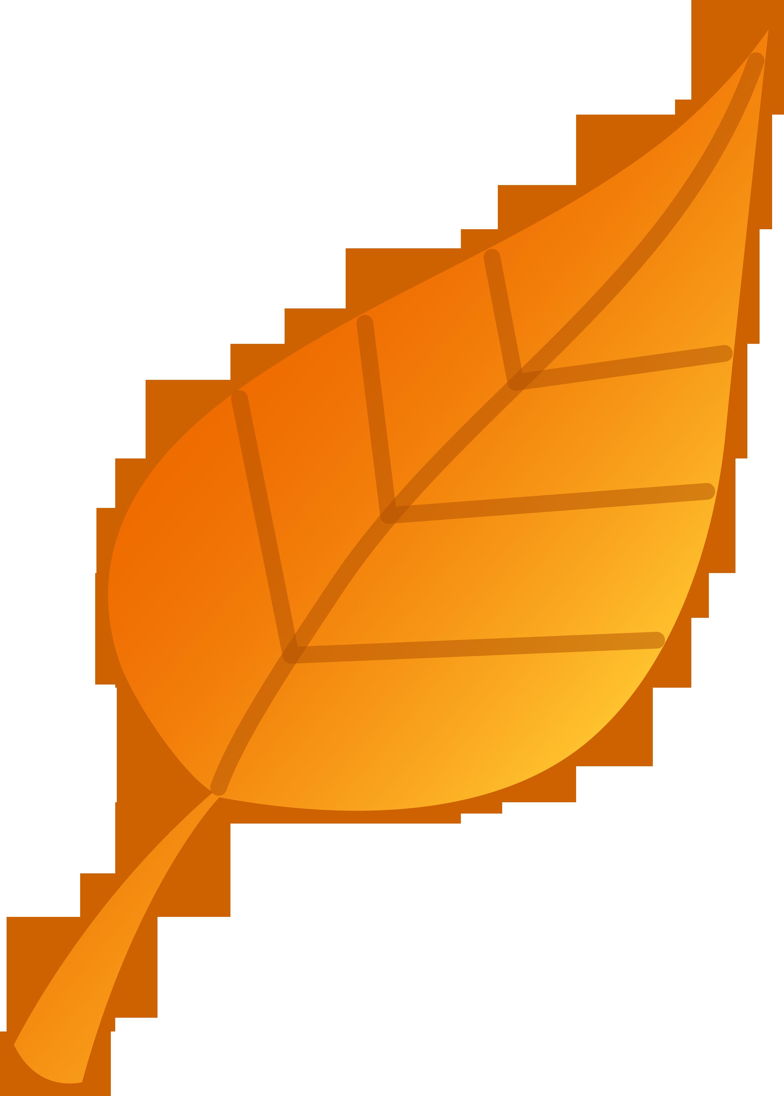 2504x3500 Orange Clipart Autumn Leaves