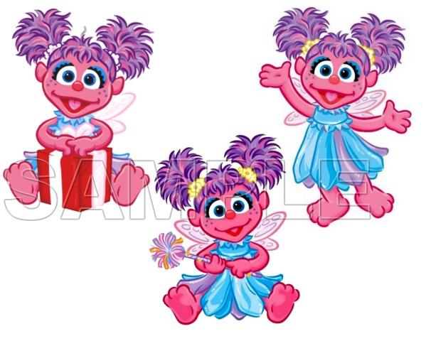 599x480 Abby Cadabby T Shirt Iron On Transfer Decal