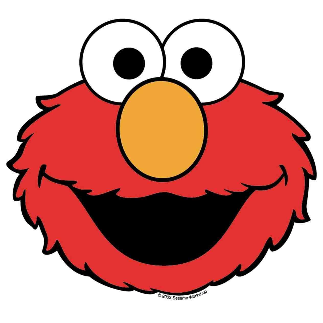 1264x1264 Coloring Elmo Clip Art