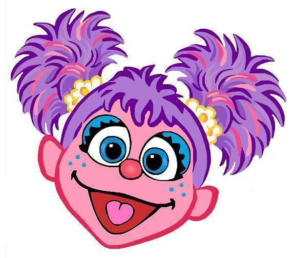 576x503 Abby Cadabby Instant Download Digital Printable Design
