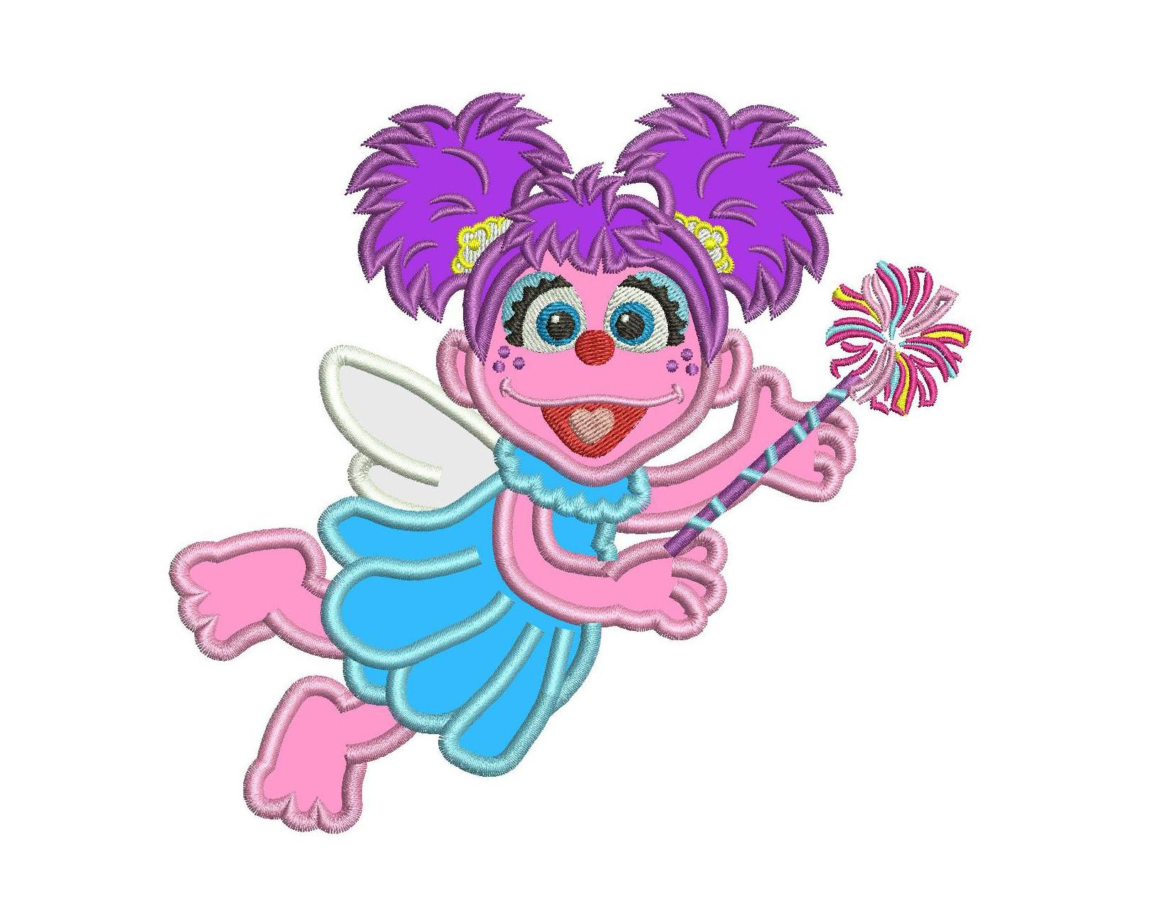 1625x1299 Abby Cadabby Applique Design Abby Applique