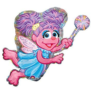 355x355 Abby Cadabby Party Balloon Mylar Decoration 14in 6pc