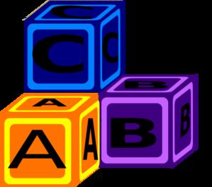 299x264 Abc Blocks Clip Art