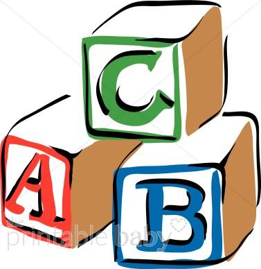 377x388 Abc Clipart Colorful Abc Blocks Clipart Ba Blocks Clipart Clip Art