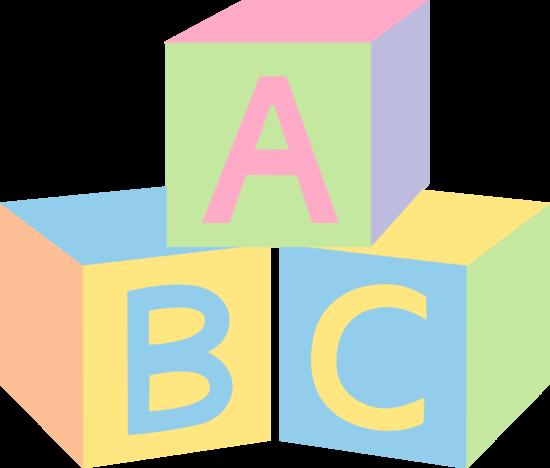 550x468 Abc Blocks Clip Art