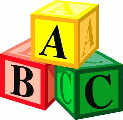 400x389 Abc Blocks Clipart