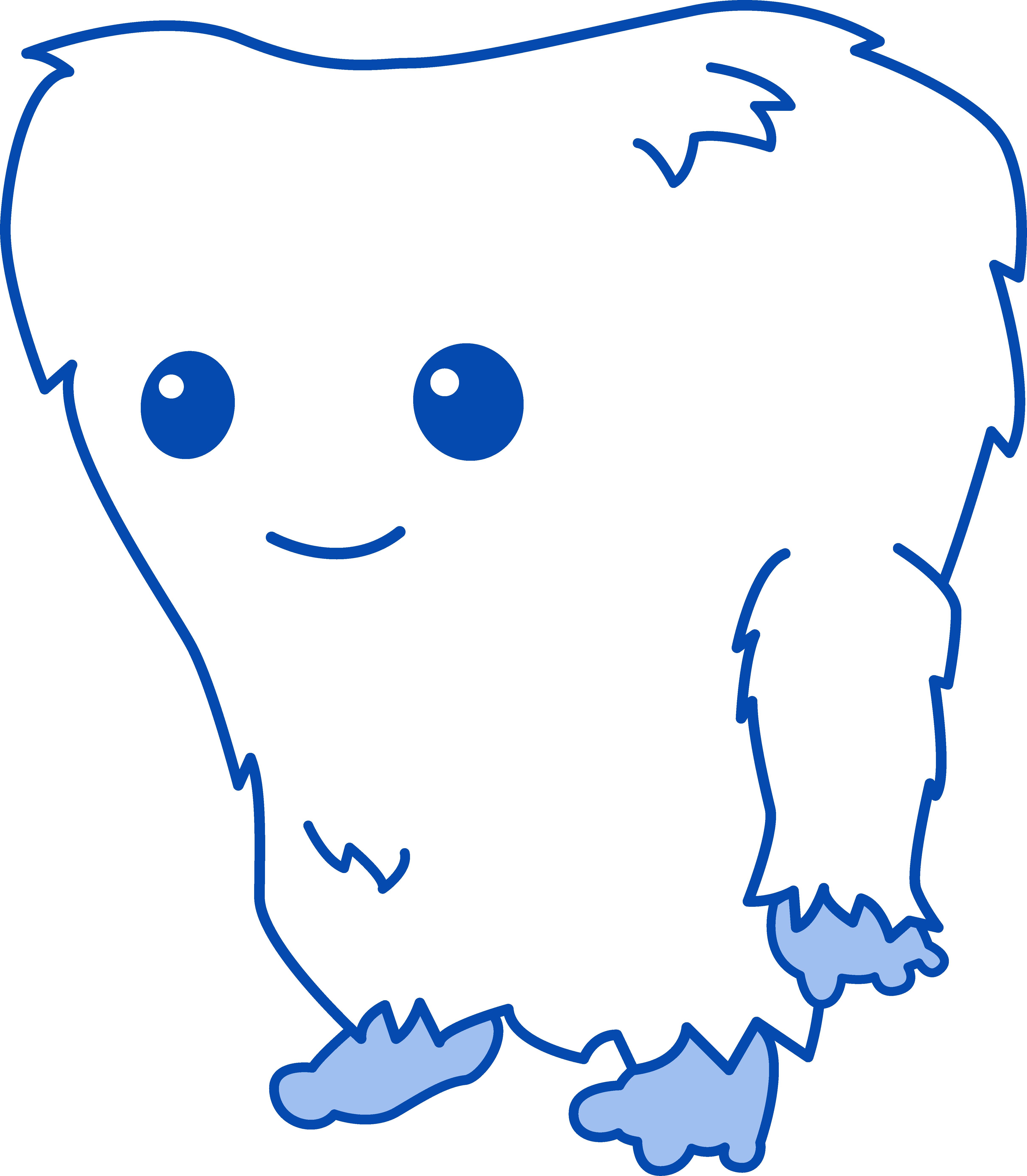 4837x5539 Cute Little Yeti Monster