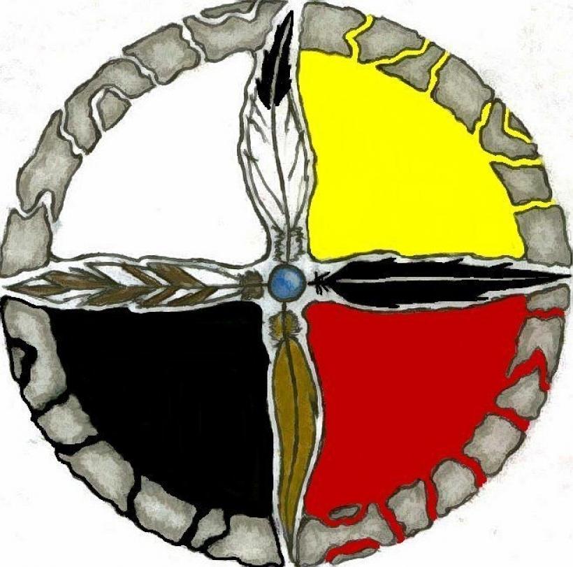 820x811 Spiritman Native American Medicine Clipart