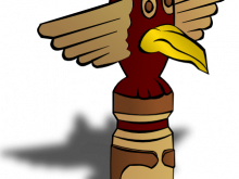220x165 Totem Pole Clipart Totem Pole Clipart Aboriginal 4 Indian