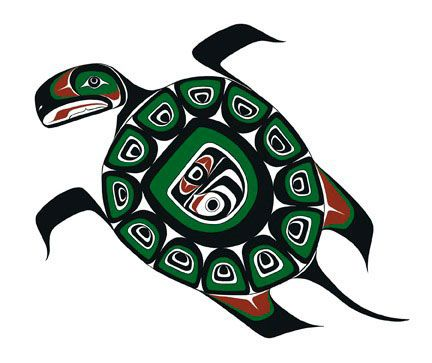 432x363 Aboriginal Clipart Turtle