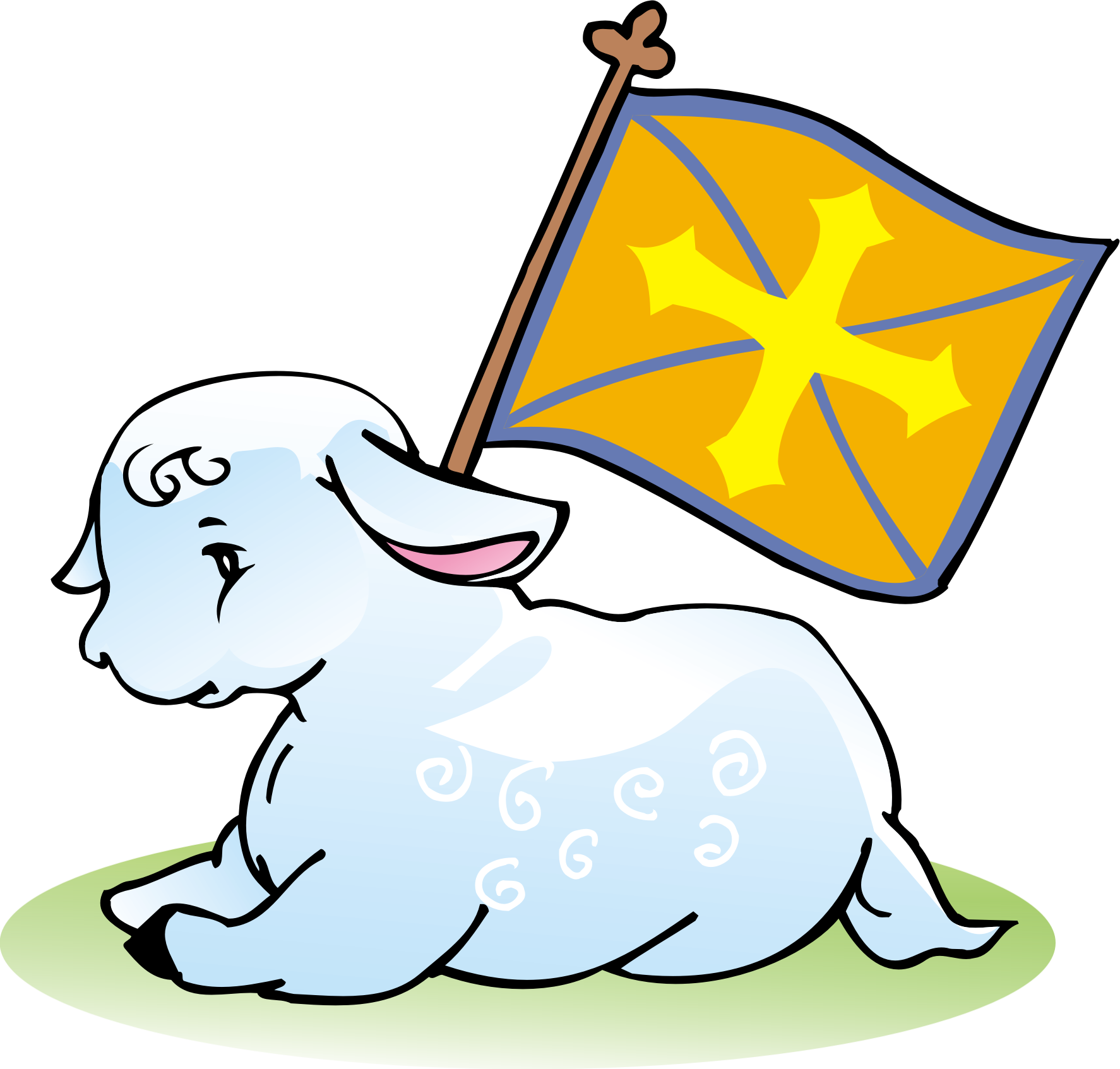 1774x1693 Clipart God Lamb