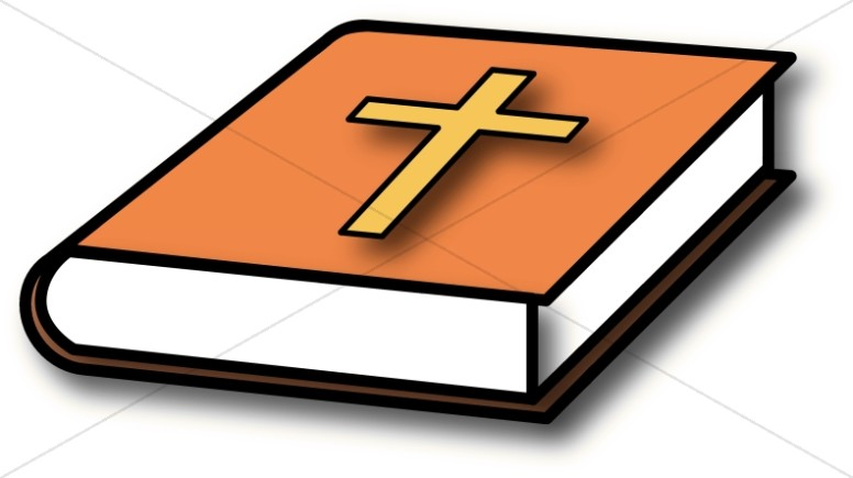 776x435 Charming Design Bible Clipart With Orange Cover Http Bibleclipart