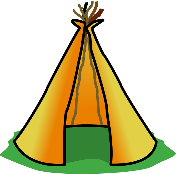 600x592 Cartoon Tent Clipart