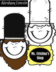236x305 Abraham Lincoln Spinners {Creative Clips Clipart} Abraham Lincoln