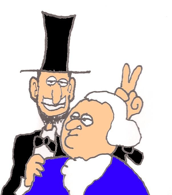 603x685 Man Overboard 10 Amazing Similarities Between Washington And Lincoln